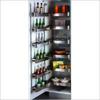SS Pantry Unit With Soft Close Mechanism