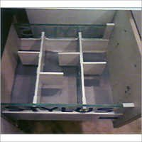 Tandom Drawer With Glass Side Wall