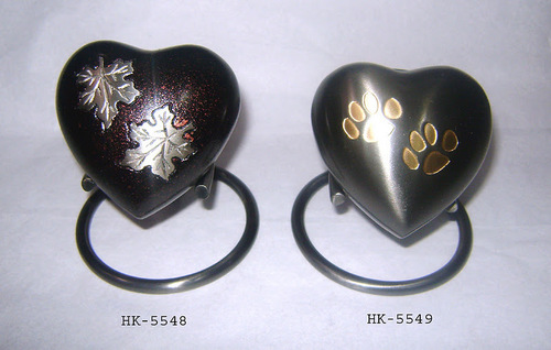 Heart shaped Keepsake Urn