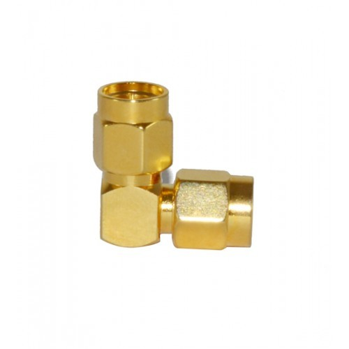 SMA (M) to (M) R/A Adaptor