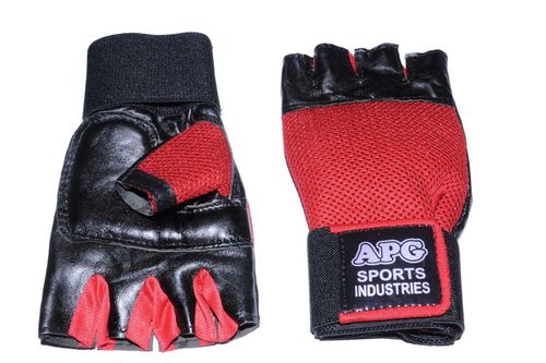 Apg Red Net Gym Gloves