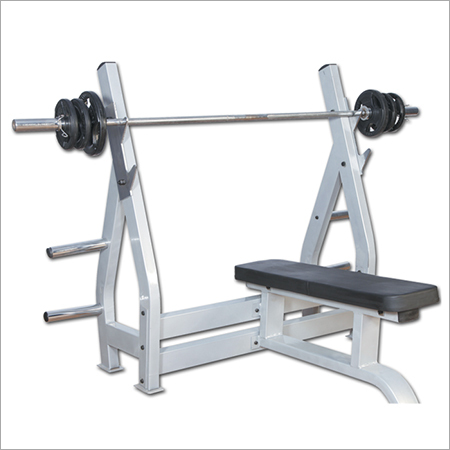 Flat Bench With Support Olympic