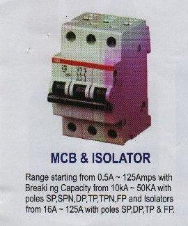 MCB & ISOLATOR