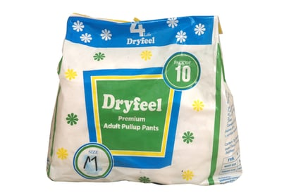 Dryfeel Adult Pullup Pant Certifications: Iso