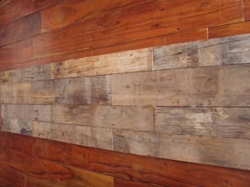 Rustic Wood Wall Panel
