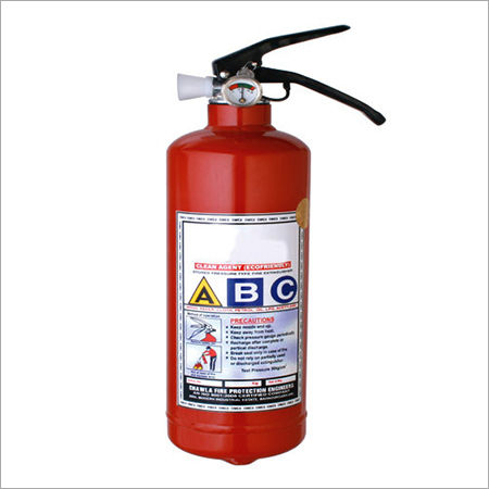 Clean Agent 02 kgs Fire Extinguisher