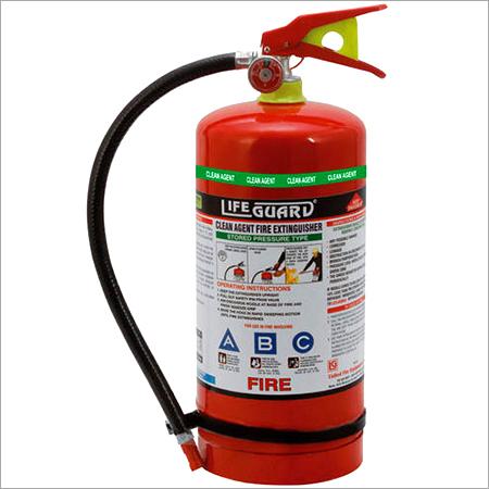 Clean Agent 04 kgs Fire Extinguisher