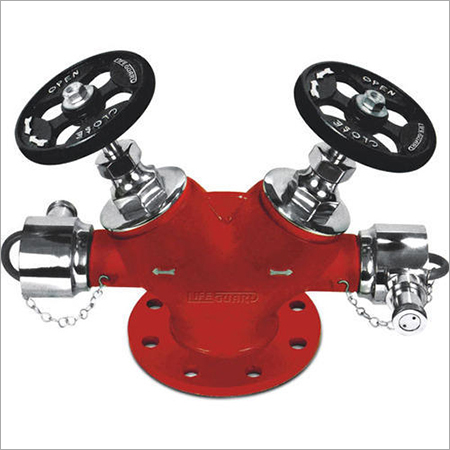 Stainless Steel Double Head Landing Valve
