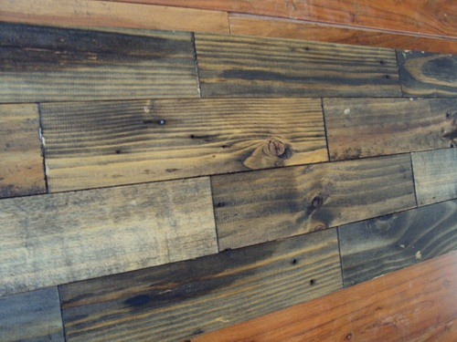 Old Wood Wall Panel