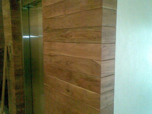 Natural Wood Wall Cladding
