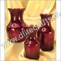 Antique Red Colored Flower Vase