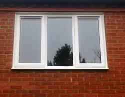 UPVC Three Track Windows