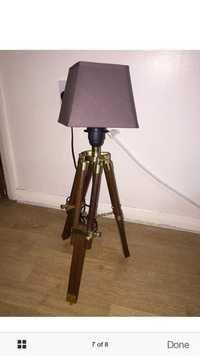 Tripod Floor Shade Lamp