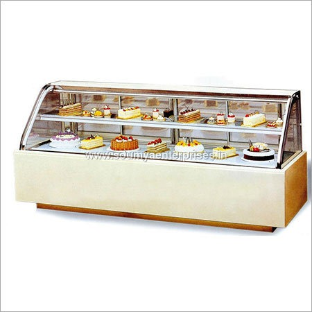 Double Curved Cake Display Cooler