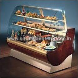 Glass Display Cake Counter
