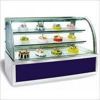 Luxury Light Box Cake Display Cabinet