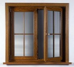 Chambered UPVC Window Structure