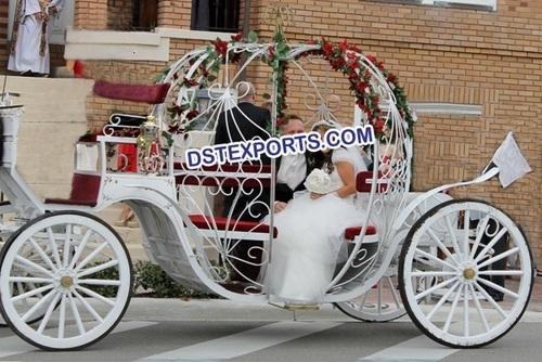 Cinderella Carriage For Church Wedding