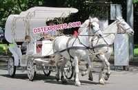 Horse Drawn Vis A Vis Victoria Carriage