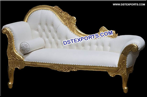 Wedding Gold Metal Italian Bride Groom Two Seater