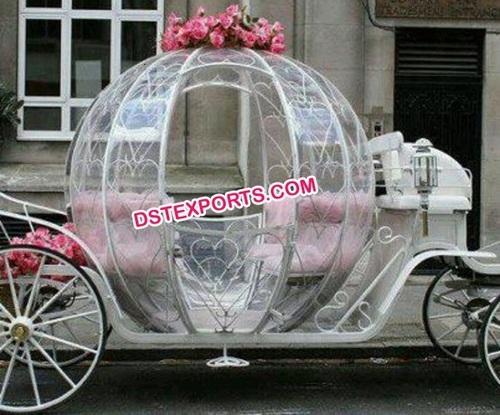 English Wedding Cinderella Carriage Buggy