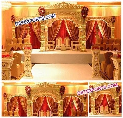 Indian Wedding Bollywood Mandap Set