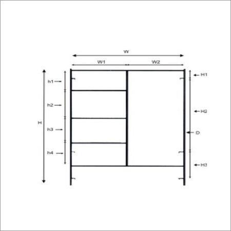 Scaffolding Ladder Frame