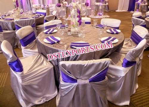 Wedding Self Wrap Chair Cover/Wedding Decoration