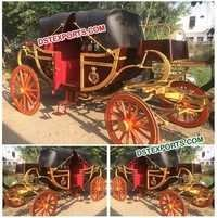 Royal Horse Drawn Presidential Carriage For Sale