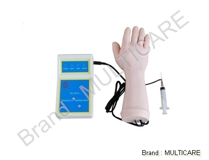 Electronic IV Training Hand