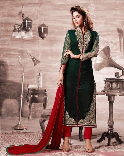 Lovely Velvet Style Suit