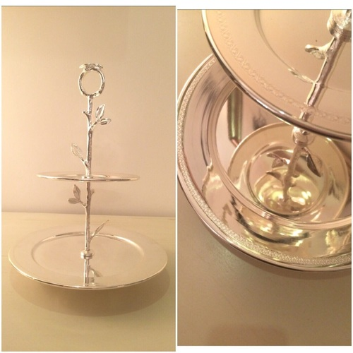 Silver Plated Cake Stands