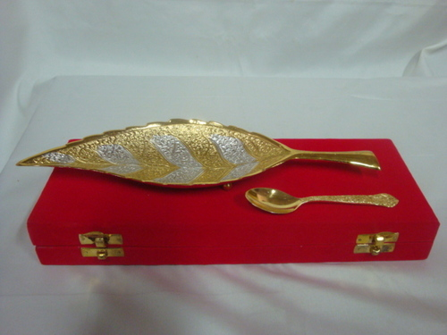 Sil/Gold Leaf Set