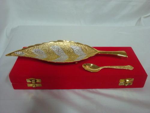 Sil/Gold Leaf Set