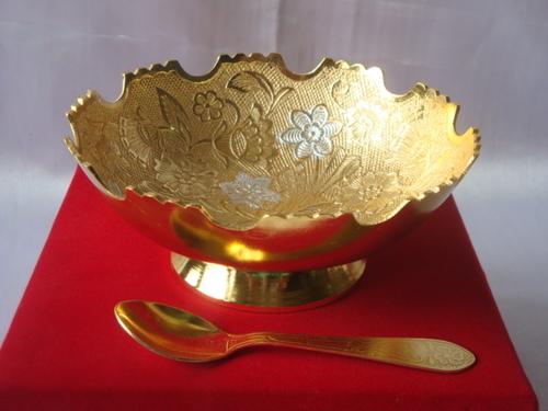 Sil/Gold Bowl
