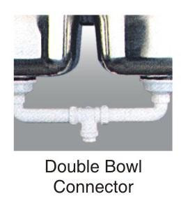 Double Bowl Connector