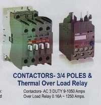 Contractors 3/4 Poles & Thermal Over Load Relay