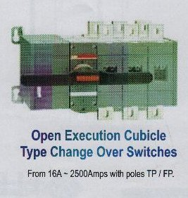 Open Execution Cubical Type Change Over Switches