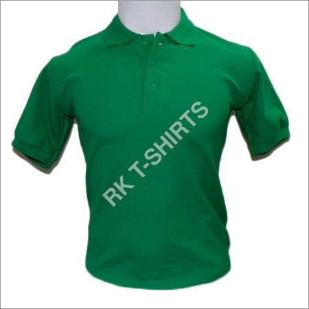 Plain Polo Cotton T Shirts