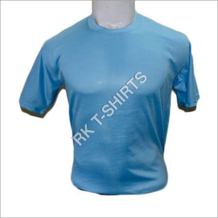 Plain Round Neck Dry Fit T- Shirts
