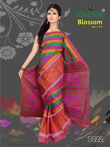 Latest Fashion Cotton Saree