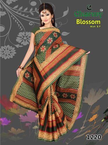 Trendy Cotton Saree