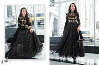 Designer Black Long Sleeve Anarkali Suit