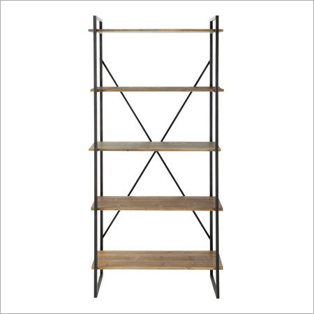 Iron Wooden Shelf