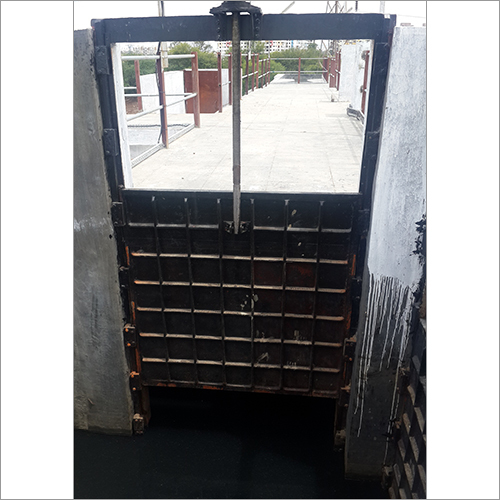 Water Control Sluice Gate