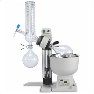 Rotary Evaporator With Vertical Coil Condenser