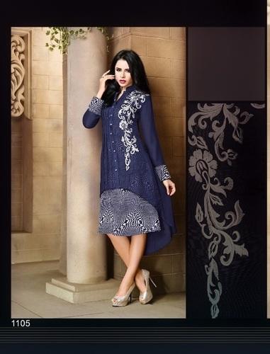 Fancy Designer Georgette kurti