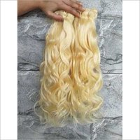 Deep  Wave Blonde Human Hair