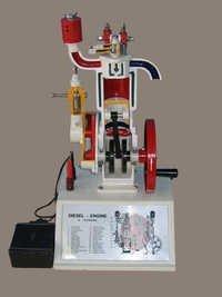 Model of 4 Strokes Diesel Engine