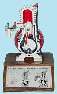 Demonstration Two Stroke Petrol Engine